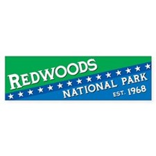 Redwood National Park Bumper Bumper Sticker