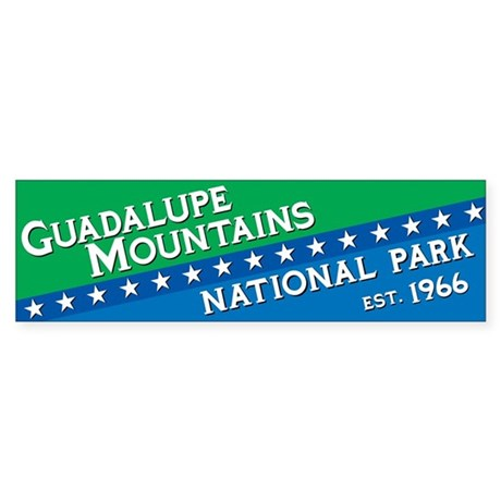 Guadalupe Mountains National Park Bumper Sticker