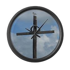 Galveston tx Large Wall Clock
