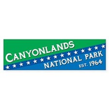 Canyonlands National Park Bumper Bumper Sticker