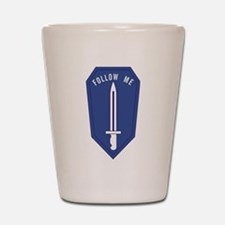 Army Infantry School Shot Glass