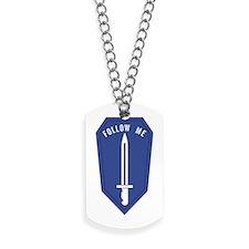 Army Infantry School Dog Tags