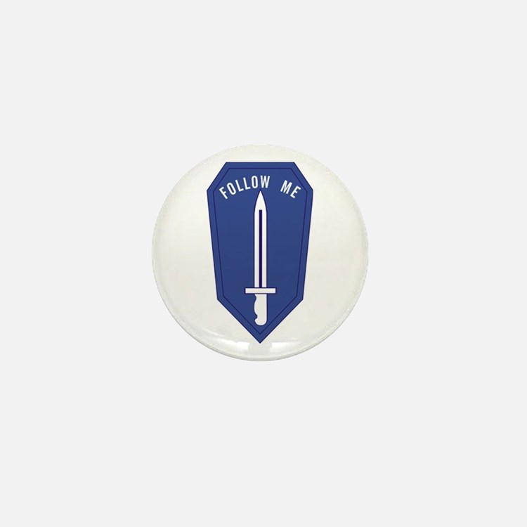 Army Infantry School Mini Button