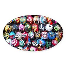 Mexican Wrestling Masks Decal