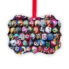 Mexican Wrestling Masks Ornament