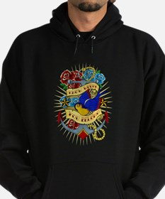 Old School Tattoo Anchor Hoodie
