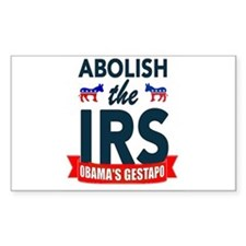 IRS CORRUPTION Decal