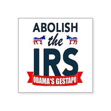 IRS CORRUPTION Sticker