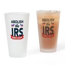 IRS CORRUPTION Drinking Glass