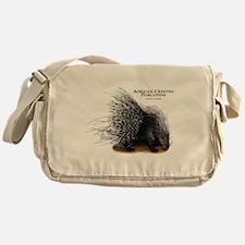 African Crested Porcupine Messenger Bag