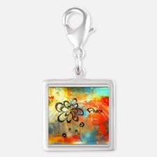 Abstract Peace Charms