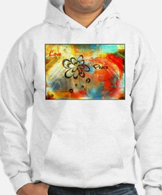 Abstract Peace Hoodie
