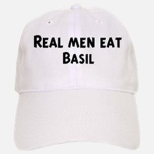 Men eat Basil Baseball Baseball Cap