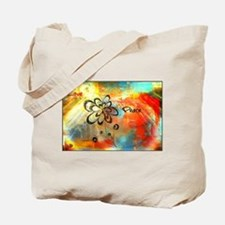 Abstract Peace Tote Bag