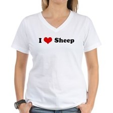I Love Sheep Shirt