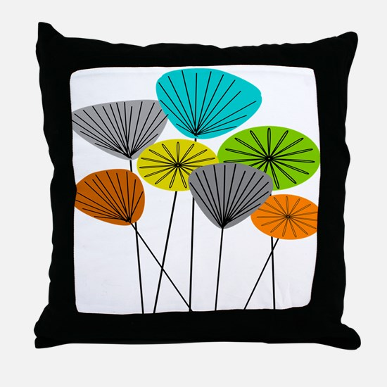 Seed Pods LARGE Throw Pillow