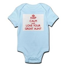 Keep Calm and Love your Great Aunt Body Suit
