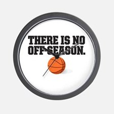 There is no off season - basketball Wall Clock