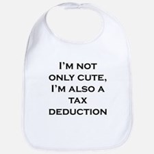 Cute Tax Deduction Bib