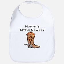 Mommys Little Cowboy Bib
