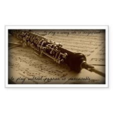 Beethoven Oboe Decal
