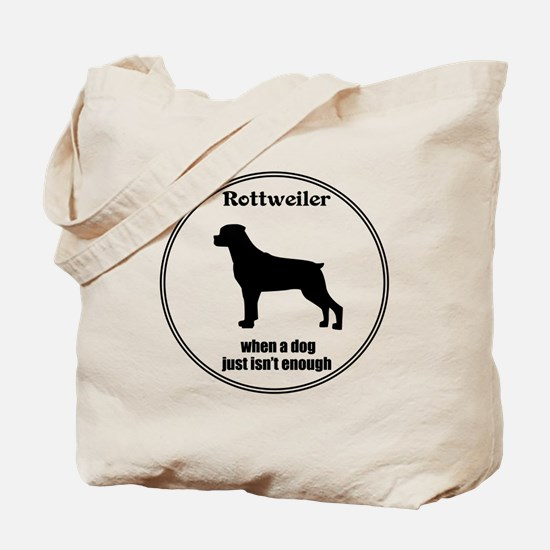 Rottie Enough Tote Bag