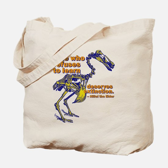 Who Refuses To Learn Tote Bag