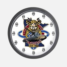 USS Minnesota SSN-783 Wall Clock