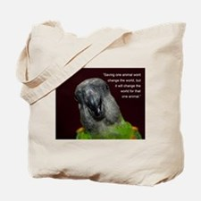 Senegal with Quote Tote Bag