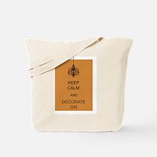 Keep Calm design Tote Bag