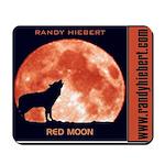 Red Moon CD Mousepad
