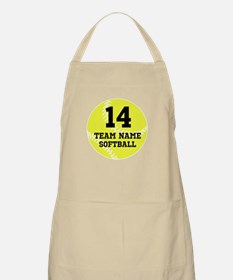 Personalize Softball Apron