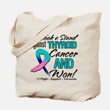 Thyroid Cancer Stand Tote Bag