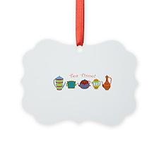 Tea Time! Teapots Ornament