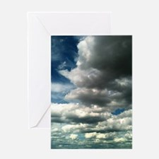 Clouds Over The Desert Card Greeting Cards