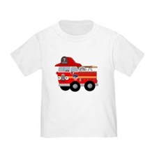 FD NY FIRE TRUCK T-Shirt