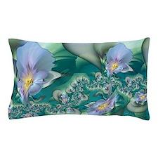 Blue Irises Pillow Case