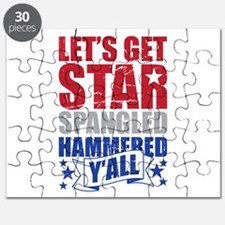 Lets Get Star Spangled Hammered Yall Puzzle