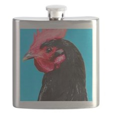 Little black Hen Flask