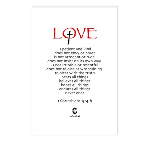 Love Is - Postcards (Package of 8)
