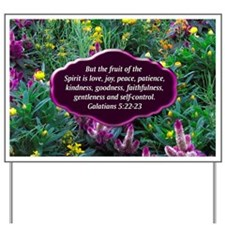 GALATIANS 5 Yard Sign