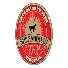 Shenandoah National Park Oval Decal