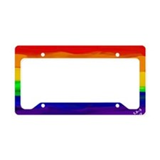 Cute Gay marriage License Plate Holder
