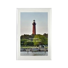 Currituck Beach Lighthouse Rectangle Magnet