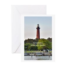Currituck Beach Lighthouse Greeting Card