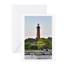 Currituck Beach Lighthou Greeting Cards (Pk of 20)