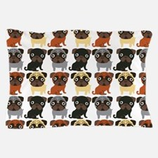 Just Pugs! Pillow Case
