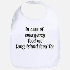 Feed me Long Island Iced Tea Bib
