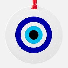 Evil Eye Round Ornament