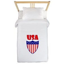 USA Crest Twin Duvet